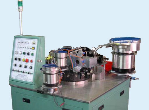 Correction pen head assembly machine