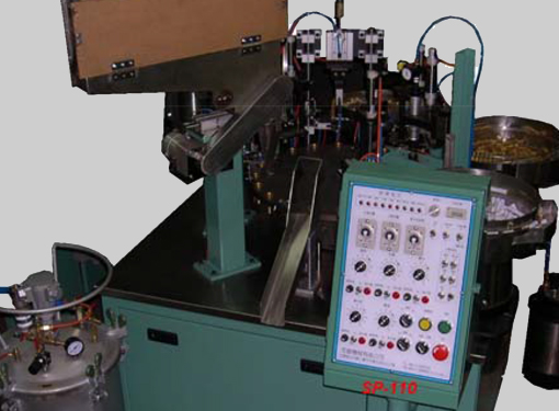 Paint marker pen filling and assembly machine